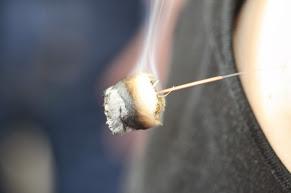 Moxibustion in der Praxis für alternative Augenheilkunde
